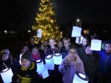 In Enspijk ontkom je niet aan kerst: midden in dorp staat grote boom