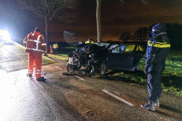 Man ernstig gewond bij ongeluk in Achtmaal