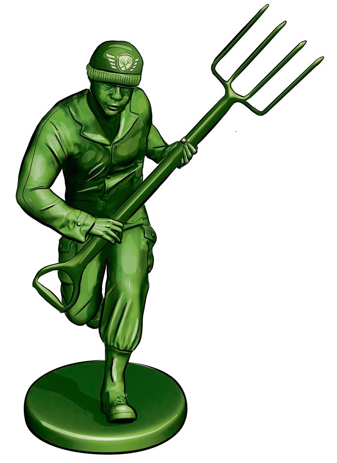 Farmers Defence Force.