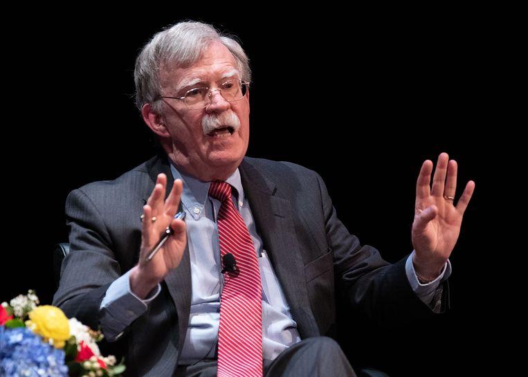 John Bolton. Beeld AFP
