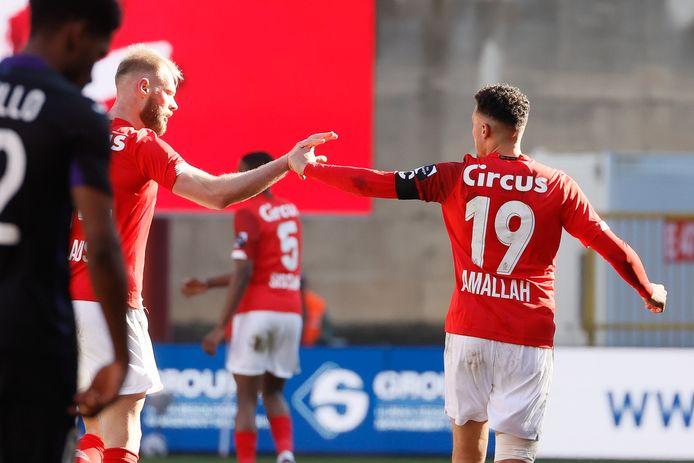 De knappe goal van Selim Amallah leverde Standard niets op tegen Anderlecht.