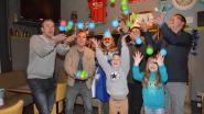 Verkozenen carnaval houden eerste ballenworp