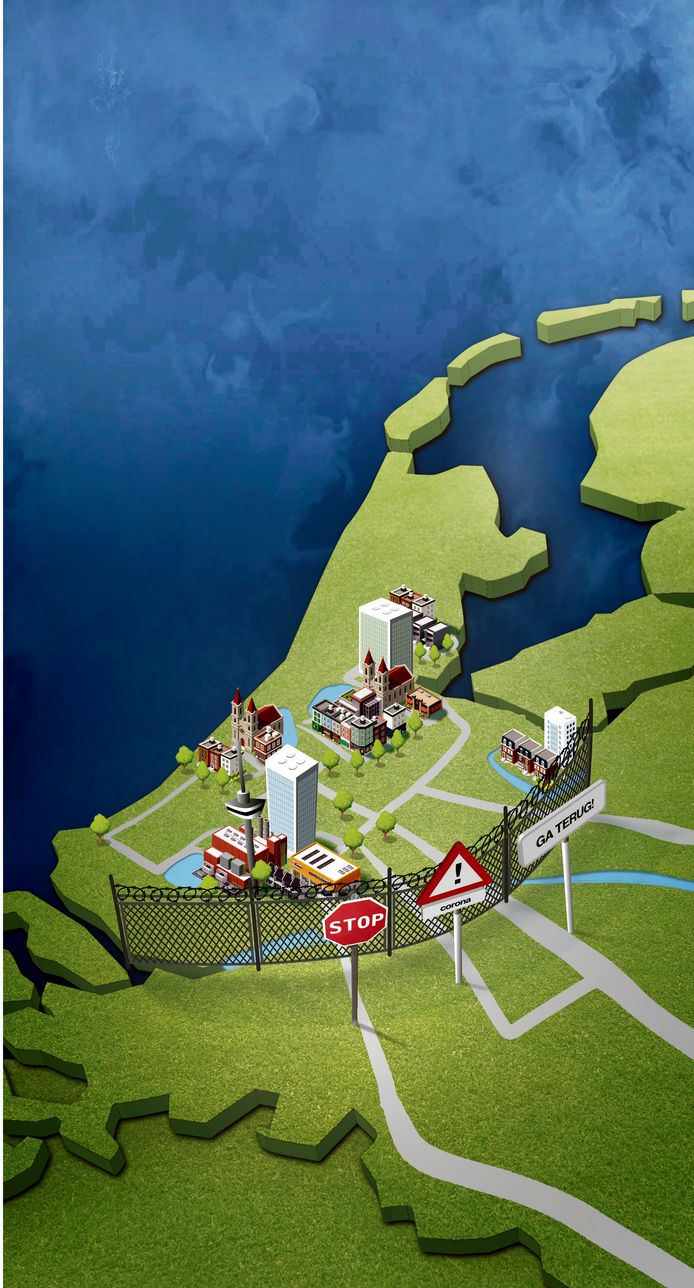Landen in de hele wereld hebben Nederland of in elk geval Noord- en Zuid-Holland als risicogebied bestempeld.