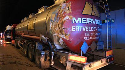 Opnieuw ongeval met vrachtwagens in Beverentunnel