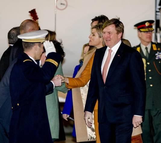Het koningspaar brengt een tweedaags staatsbezoek aan Frankrijk