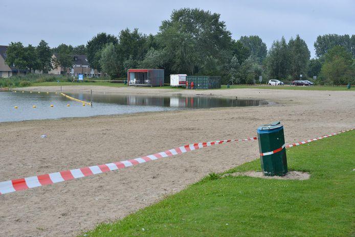 Asterdplas in Breda dicht voor zwemmers.