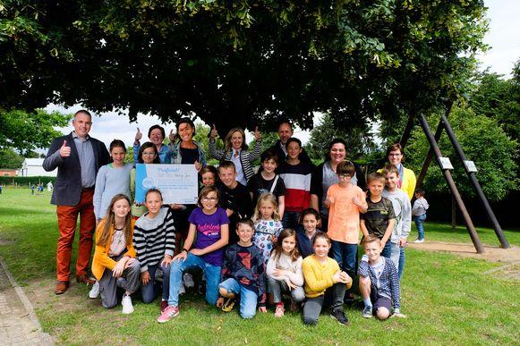 GO-basisschool Hertog Jan krijgt 723 euro.