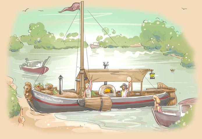 De Bakboot is voorlopig een werktitel en ook het precieze uiterlijk is nog niet bekend.