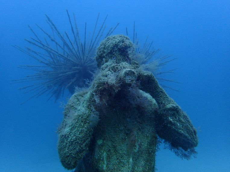 Jason deCaires Taylor: Museo Atlántico. Beeld Raphael Minder for The New York Times