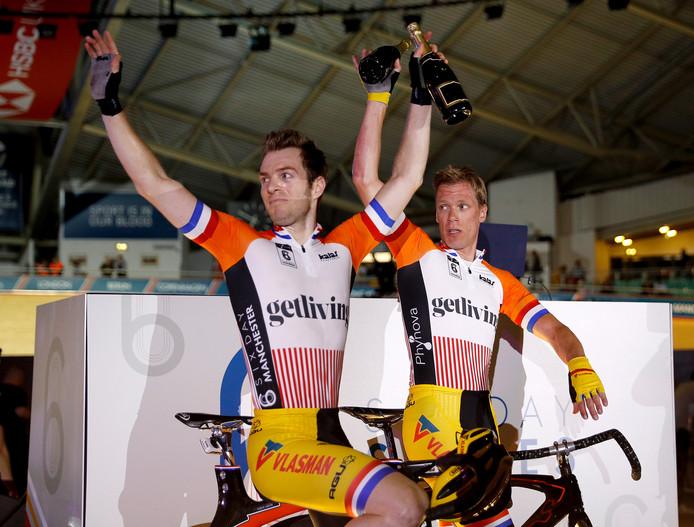 Yoeri Havik (links) en Wim Stroetinga.