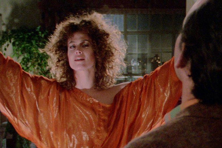 Sigourney Weaver in Ghostbusters van Ivan Reitman. Beeld