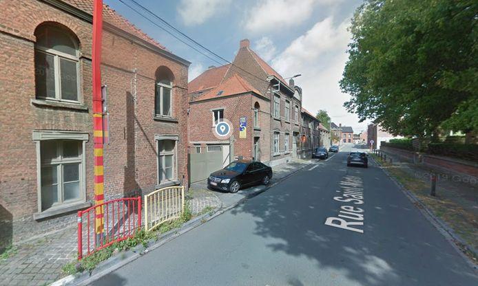 Le feu s'était déclaré au dernier étage de l'école St-François de Salles, rue Saint-Martin à Leuze.