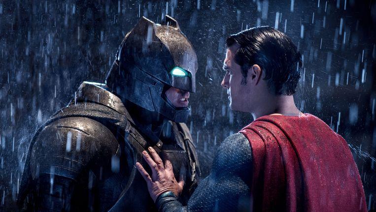 'Batman v Superman' kreeg slechte kritieken, maar breekt wel records in de box office. Beeld AP