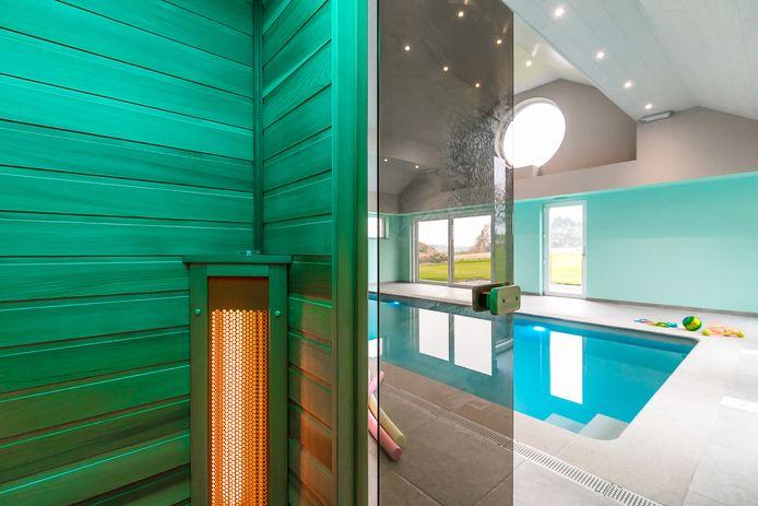 Modern vakantiehuis met binnenzwembad en infraroodcabine (referentie: 106368-01)