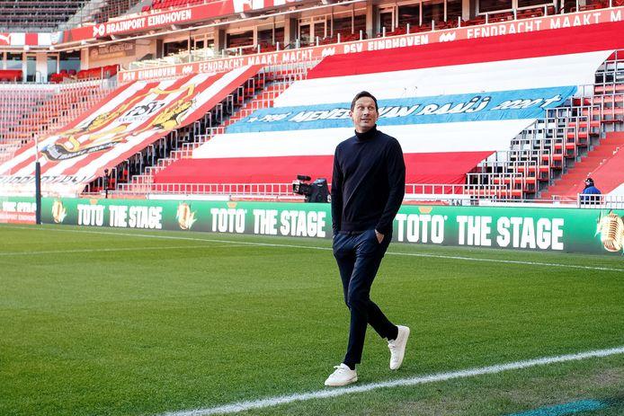 Roger Schmidt voor het duel met Vitesse.