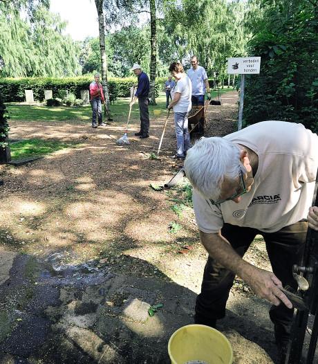 Al het gereedschap gejat van deze begraafplaats in Hoogerheide: 'Wie doet nou zoiets'