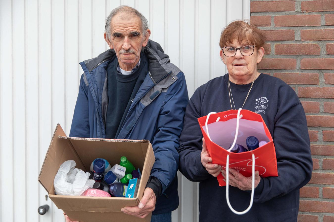 Piet en Bernadette de Smit hebben al wat spullen gekregen, maar hopen op nog veel meer.