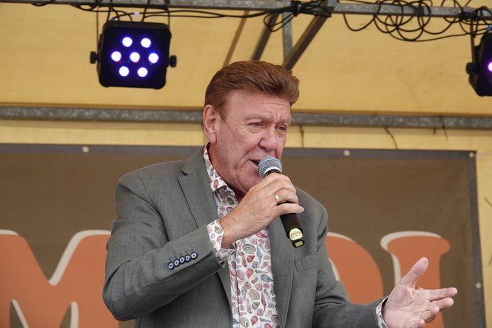 Danny Fabry in actie tijdens de Sinksenbraderie 2019 in Menen