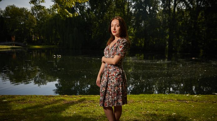 """Zana Dauti in het Zuiderpark: ,,Soms loop ik door de stad en vraag ik me af: waar is die ex-militair gebleven."""""""