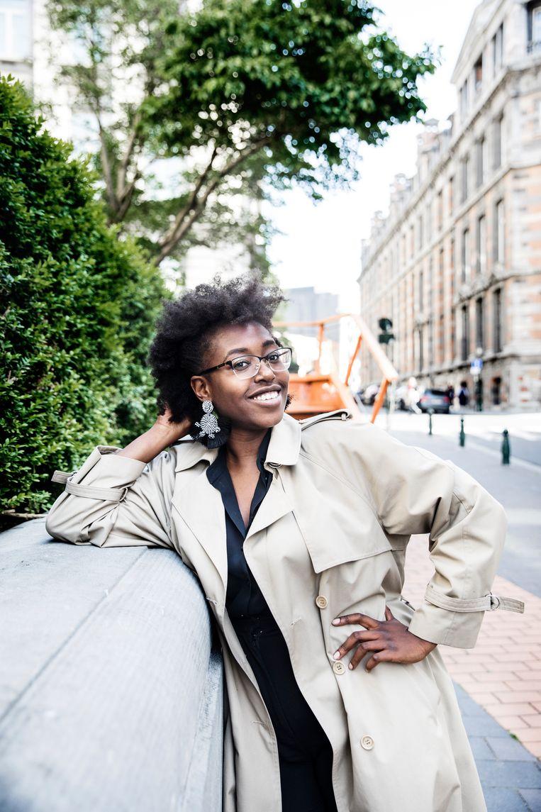 Ariane Giraneza: ''Het fatalisme van sommige vrienden is me te makkelijk.' Beeld Aurélie Geurts