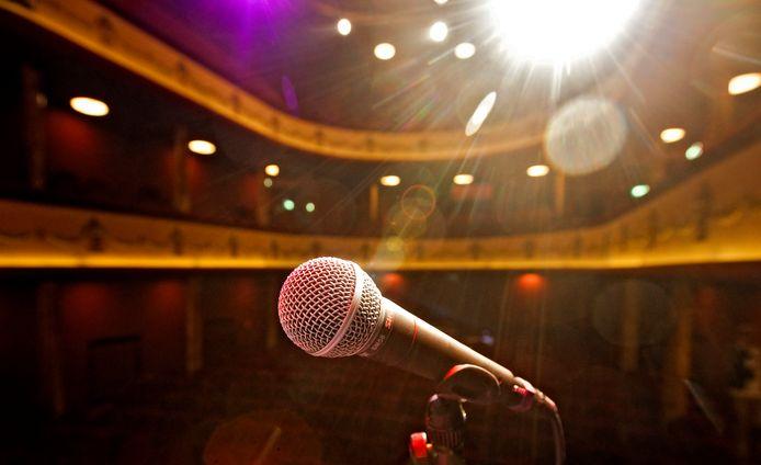 Stand-up comedy 'met zonder' publiek