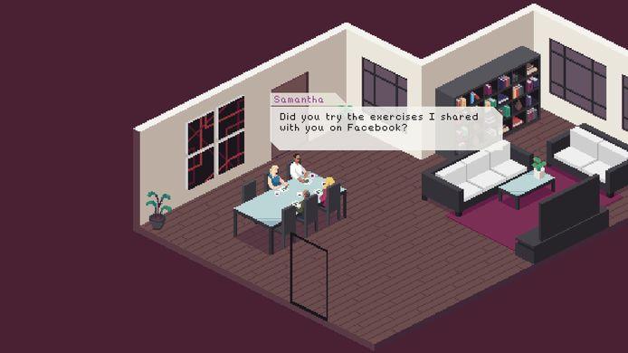 Een scène uit 'Behind Every Great One', de beste game uit het pakket.