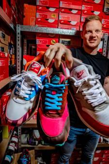 Frank (28) uit Apeldoorn verdient goud geld met gedragen sneakers: 'Of ik een luxeleven leid? Zeker'