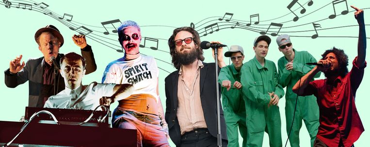 Tom Waits, Soulwax, Fever Ray, Father John Misty, Beastie Boys en Rage Against The Machine Beeld Humo