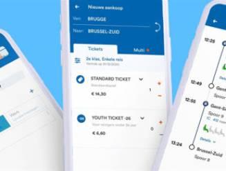 NMBS lanceert nieuwe app, voor het eerst met digitale rittenkaarten