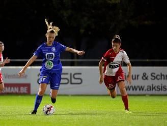 """Lore Jacobs (AA Gent Ladies) na 3-0-winst tegen Charleroi: """"Geen moeilijke match, maar lang moeten wachten op doelpunten"""""""