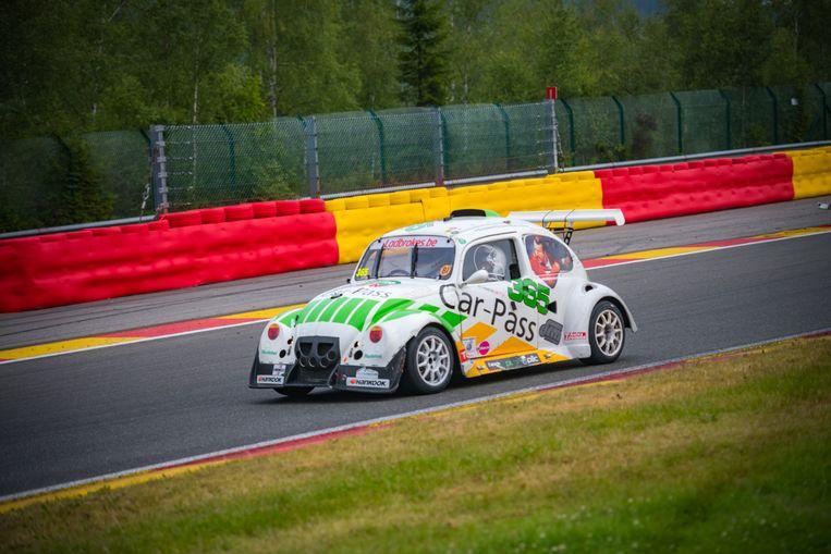 De auto van Car-Pass op de VW Fun Cup Beeld Woodmonkey
