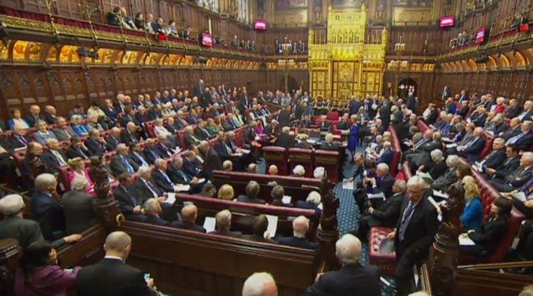 Het House of Lords. Beeld AFP