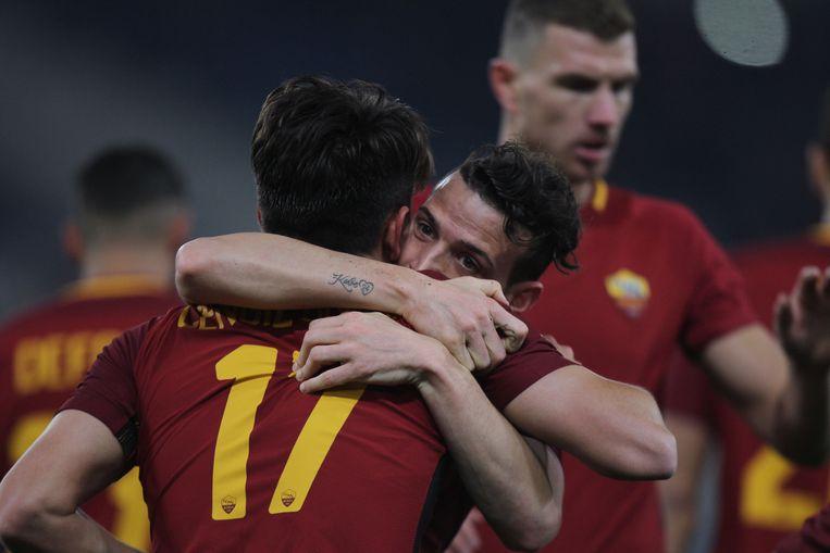 AS Roma won met 5-2 van Benevento.