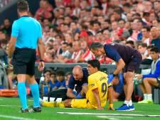 Luis Suarez blessé au mollet vendredi à Bilbao
