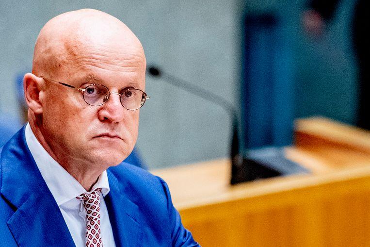 'Iedereen die een pilletje slikt of een lijntje snuift, financiert misdadigers.' Beeld Robin Utrecht/ANP