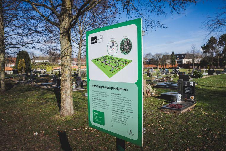 De feiten vonden plaats op de Westerbegraafplaats in Gent. Beeld Wannes Nimmegeers