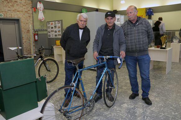 Ook wielrennen kon uiteraard niet ontbreken op een tentoonstelling over Kempense sportkampioenen.