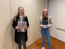 Meike (15) en Indy (14) slagen voor uitdaging 'Hof Beats Corona': 'Het zou geweldig zijn als de app straks landelijk gebruikt wordt'