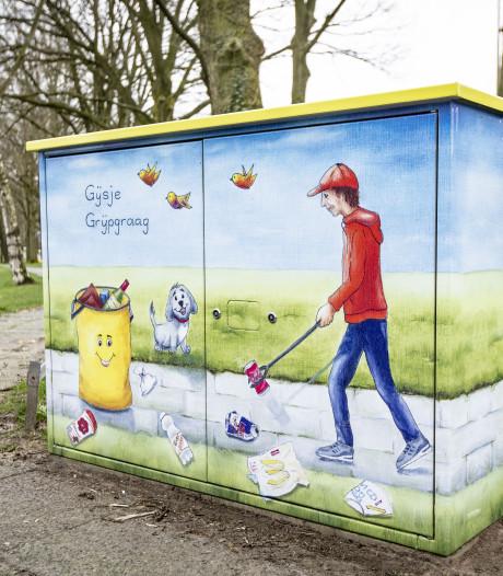 Gijsje Grijpgraag geeft startsein voor vervolgproject 'Schoon Oldenzaal'