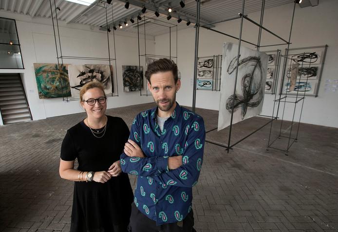 Karina Ruffo Leduc van Art Experience by KRL en Tijs Rooijakkers