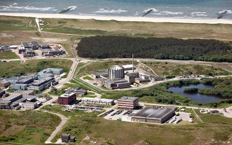 De kernreactor in Petten wordt misschien vandaag weer opgestart.  Beeld ANP