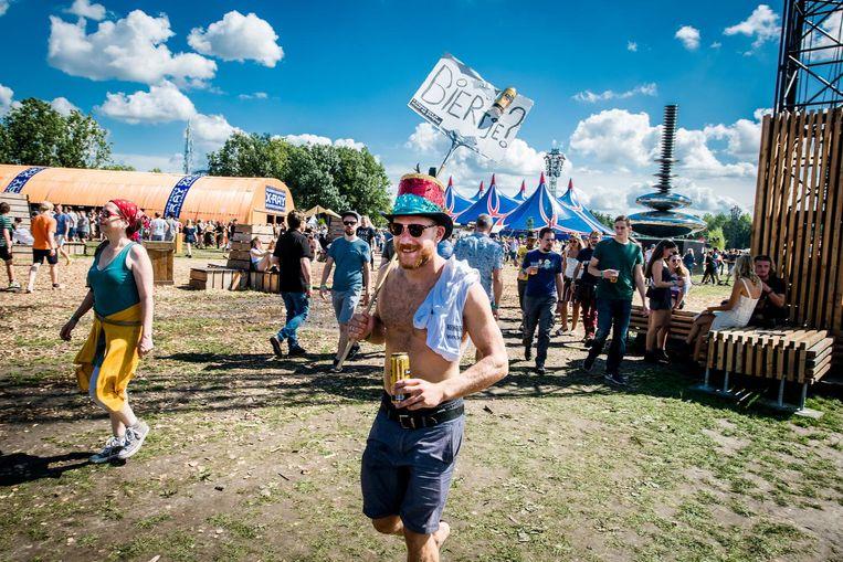 Het festivalterrein Beeld ANP