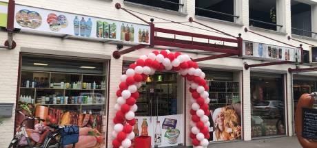 Supermarkt Biedronka in Heeswijk-Dinther zeven maanden na de aanslag weer open