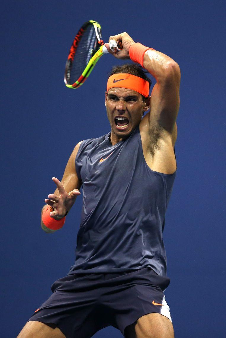 Nadal (dij), Cilic (knie) en Murray (heup) hebben nog twaalf dagen om volledig fit te geraken. Beeld AFP