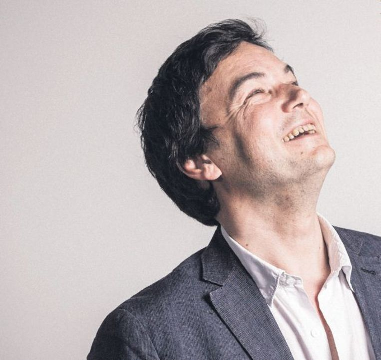 Thomas Piketty: Ik denk dat het een grote fout zou zijn om te doen alsof het intellectuele debat hierover achter ons ligt en dat we ooit na heel veel nadenken besloten hebben dat een progressieve vermogensbelasting geen goed idee was. Dat debat is er nooit geweest. Beeld Ed Halcock, HH