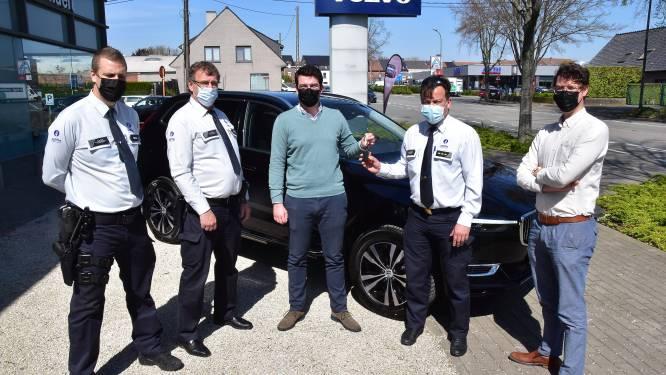 """Politiezone versterkt met supersnelle hybride Volvo: """"Geen overbodige luxe, gezien het vermogen"""""""