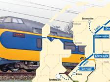 Spoorverbinding tussen Lelystad en Noorden kan rekenen op brede steun in Tweede Kamer