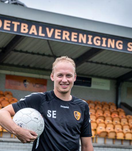 Bij SBC kan de op het oude nest teruggekeerde Sander Egmond weer op de fiets naar zijn club
