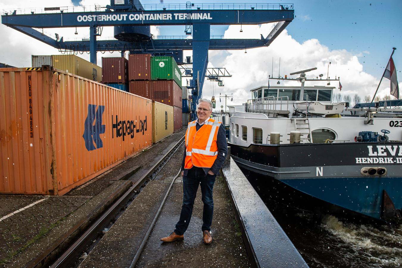 Arie Rietveld, directeur van de Oosterhoutse Container Terminal .