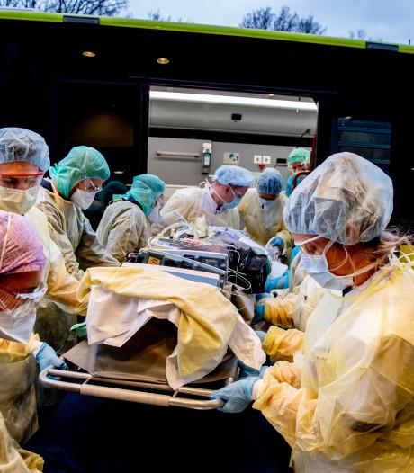 Nu 1324 coronapatiënten op intensive care, stijging van 51